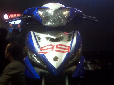 all new 2011 Yamaha Jupiter MX (135LC) launched at the 2010 Jakarta